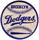 Brooklyn Dodgers patch