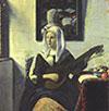 Woman Playing Music