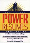 Power Resumes by Ron Tepper