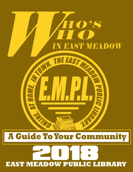 Cover image of Who's Who in East Meadow booklet